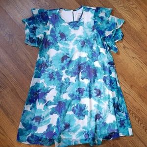 Beautiful Calvin Kline Flowy Dress Size 4